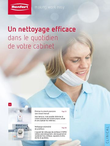 Products for dentists | Brochure | FR