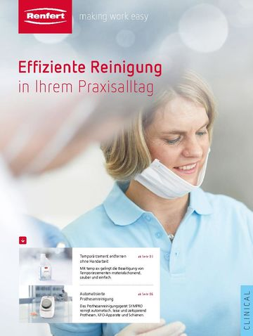 Products for dentists | Brochure | DE