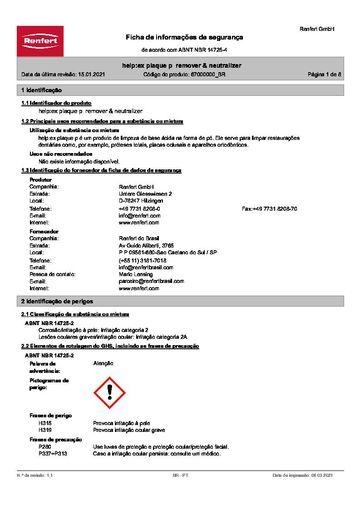 help:ex plaque p remover & neutralizer   67000000   BRASIL